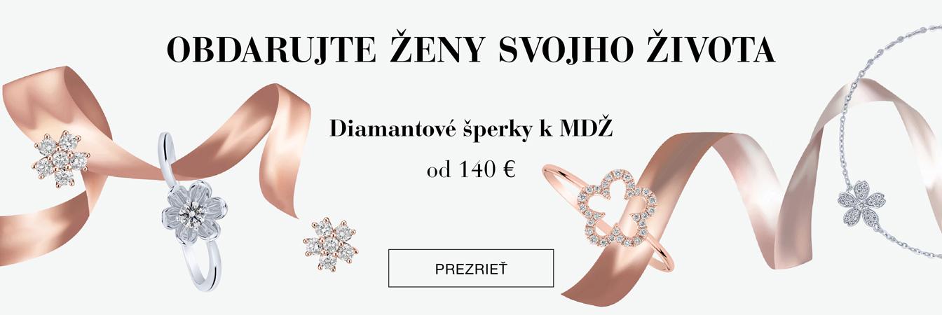 VŽDY je správny čas darovať diamantový šperk