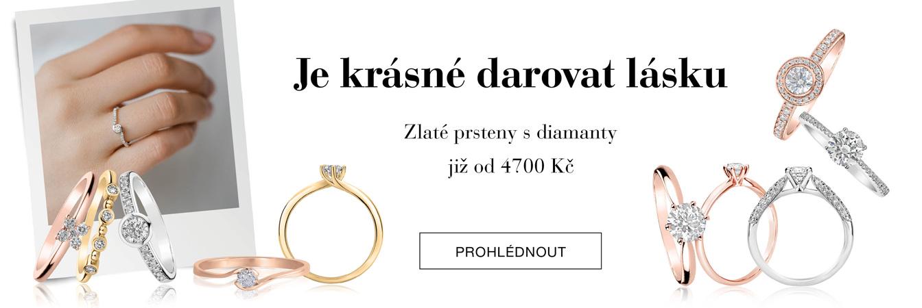 VŽDY je správný čas darovat diamantový šperk